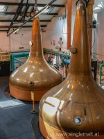 Pot Stills bei Bowmore